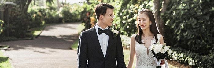 巴厘岛悦榕庄总统别墅水台婚礼婚礼视频