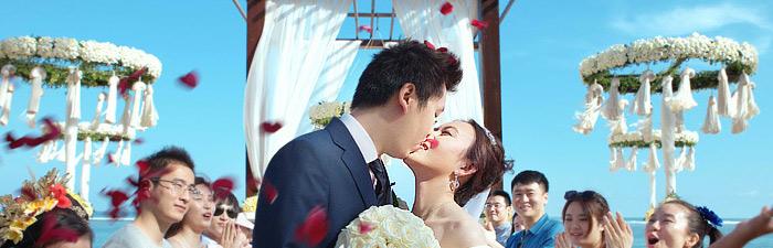 巴厘岛瑞吉海滩婚礼婚礼视频