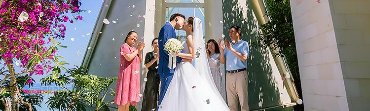 巴厘岛水之教堂婚礼婚礼视频