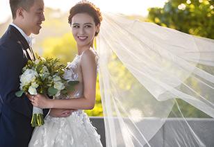 余先生姚女士的巴厘岛乌干沙婚礼照片